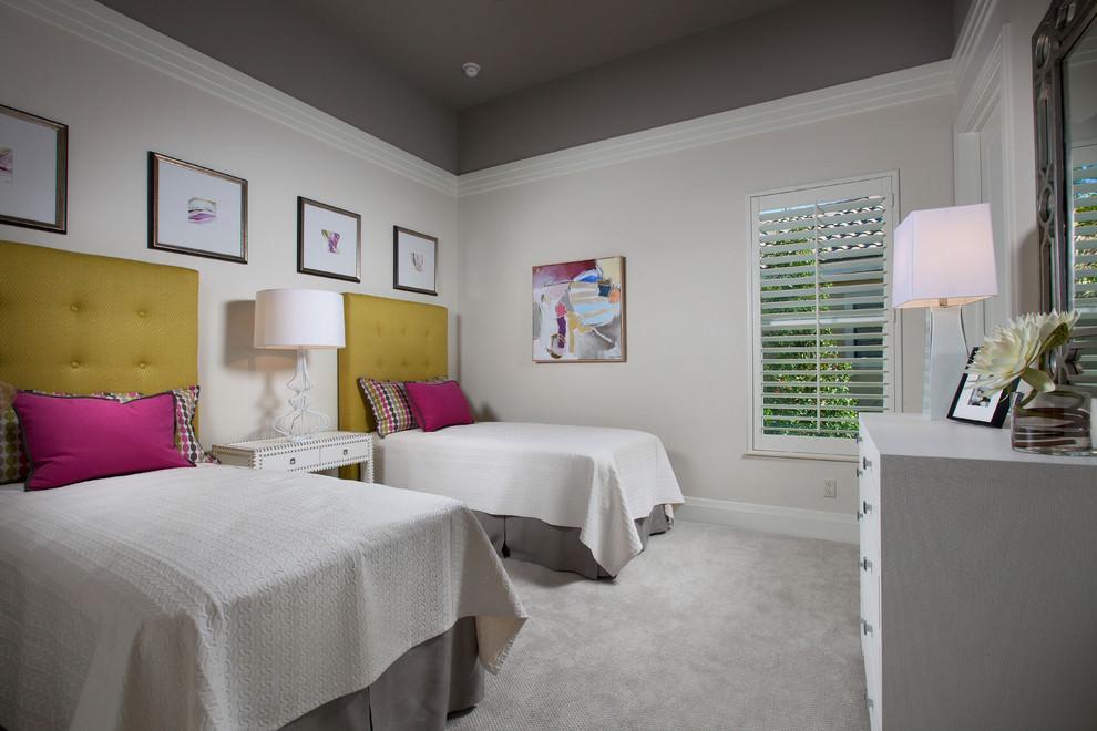 gray bedroom roof design