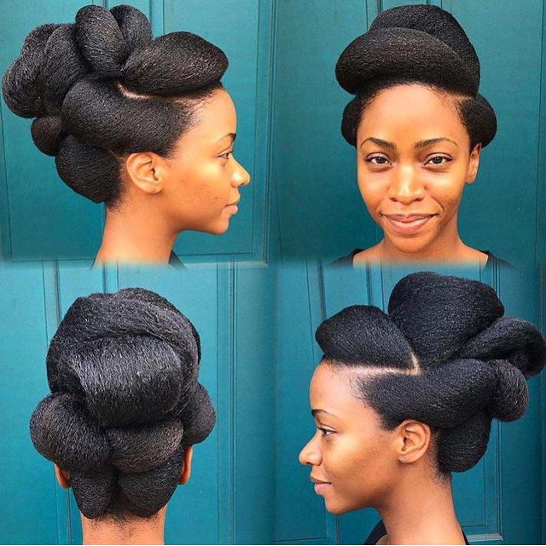 pretty and creative hairdesign