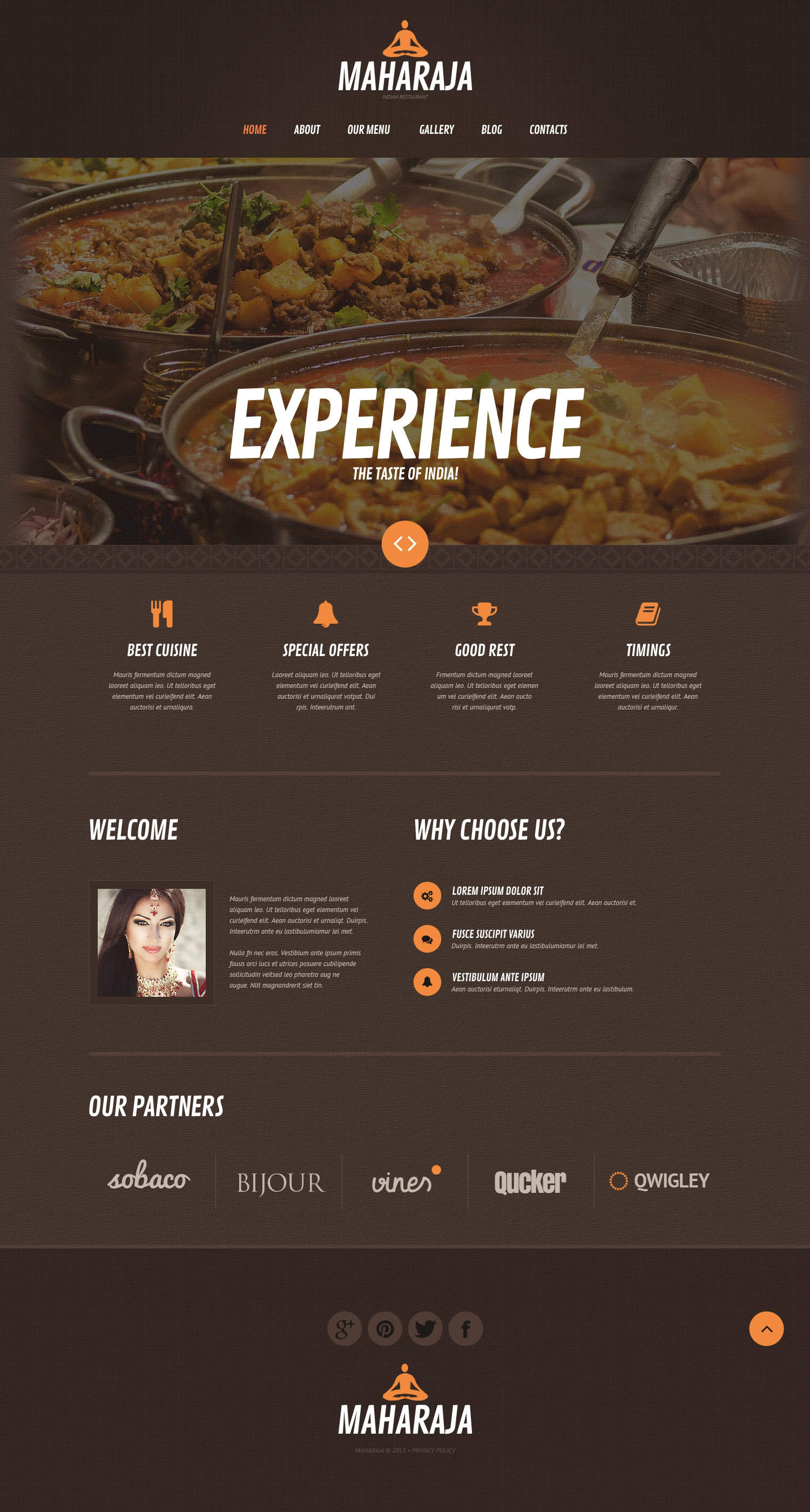 Asian Restaurant WordPress Theme