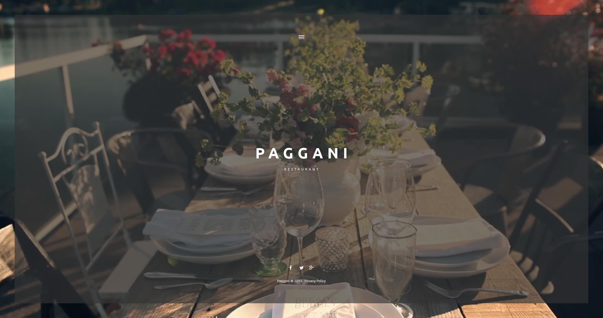attractive restaurant wordpress theme