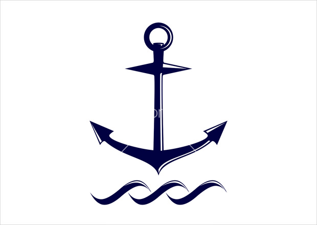 Anchor Symbol Icon shape