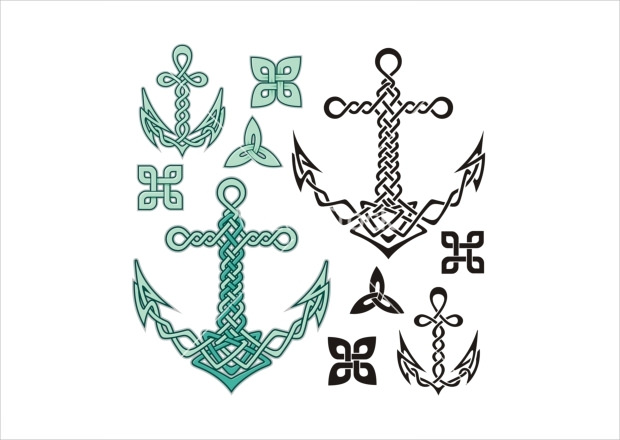 Anchor Celtic Shapes