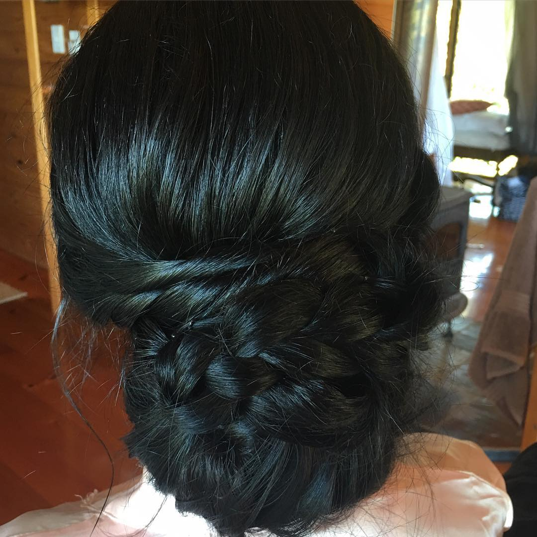 Black Wedding Hairstyle