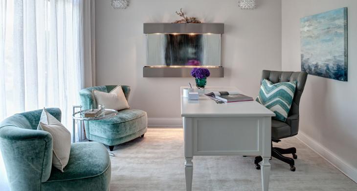 17 gray home office furniture designs ideas plans design trends premium psd vector. Black Bedroom Furniture Sets. Home Design Ideas