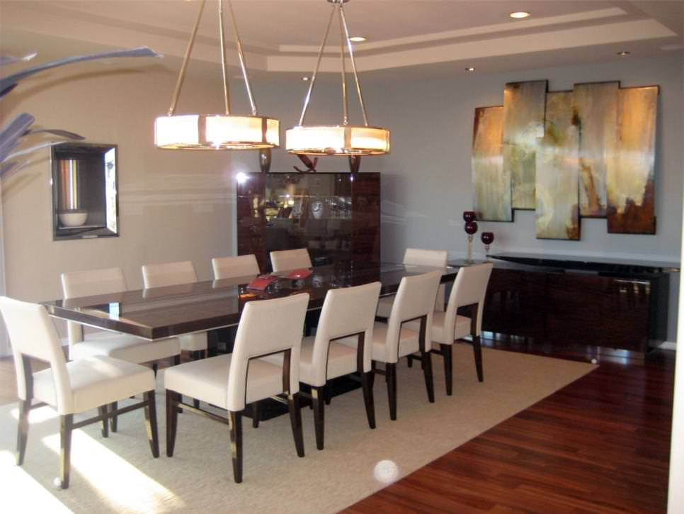 29 wall decor designs ideas for dining room design for Contemporary formal dining room ideas
