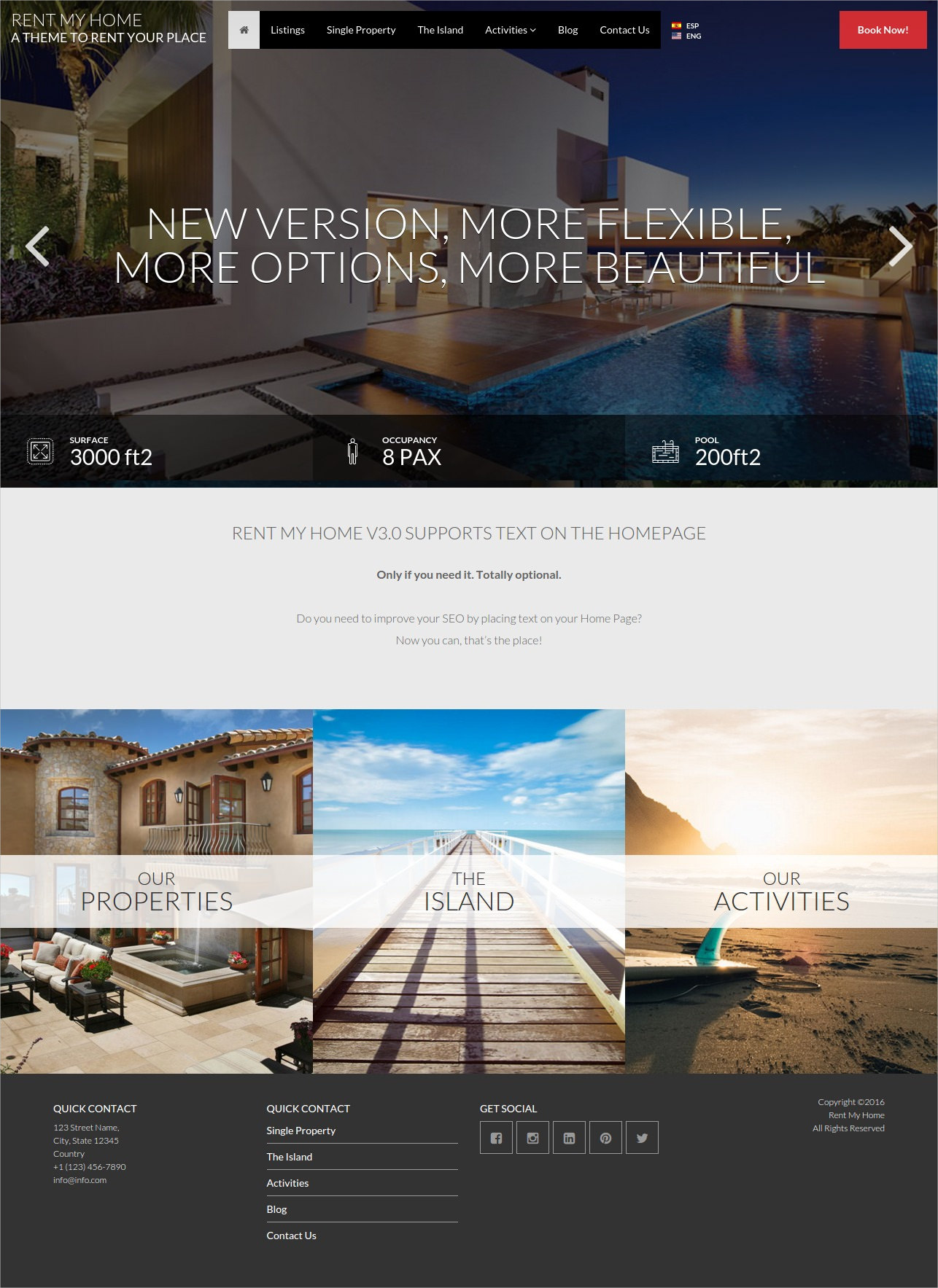 beautiful real estate wordpress theme
