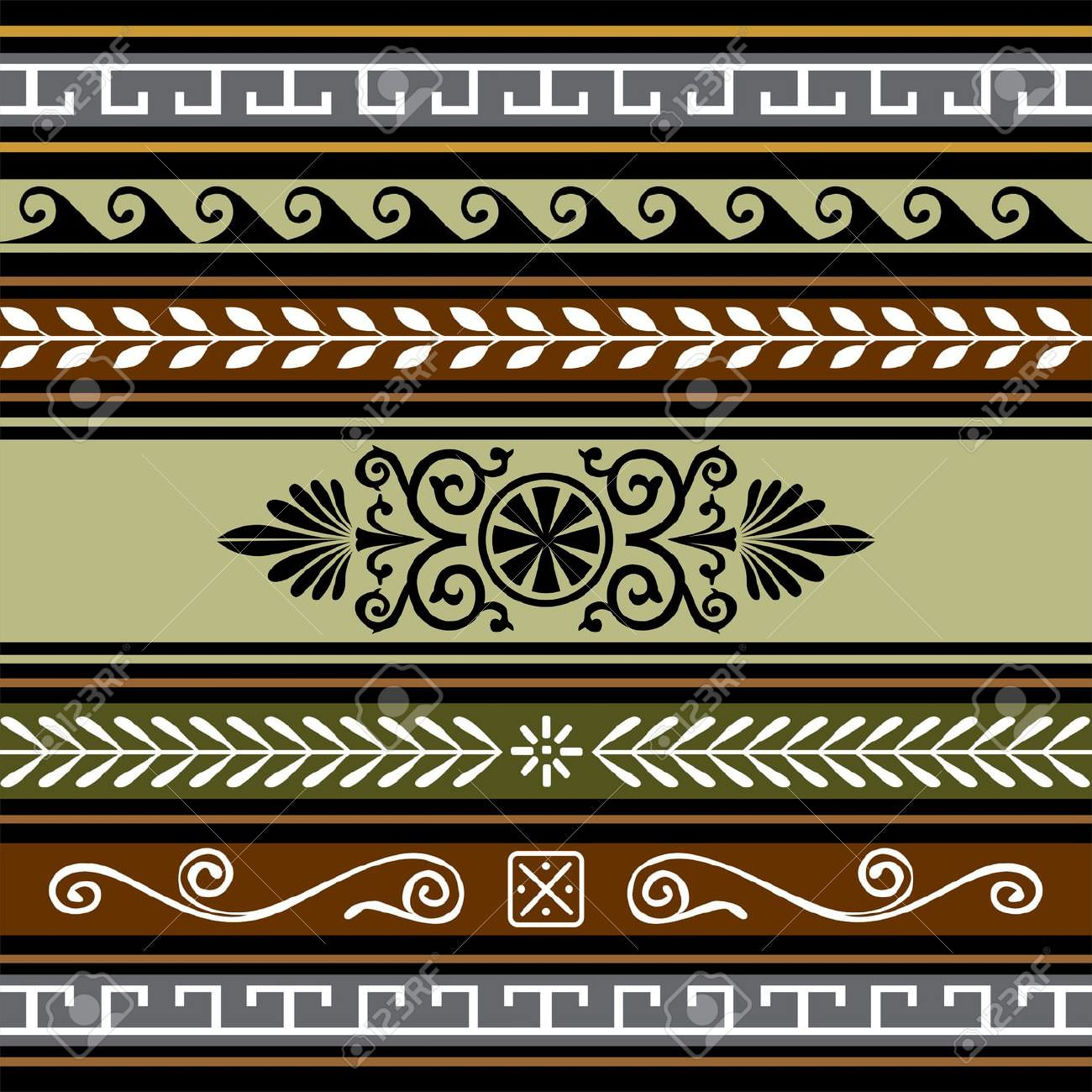 geometric border pattern