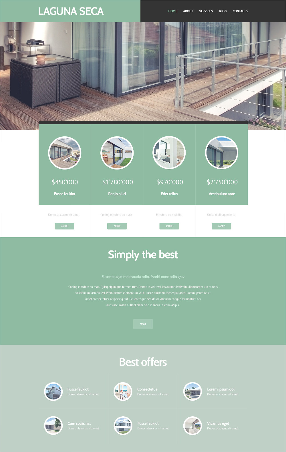 land brokers wordpress theme