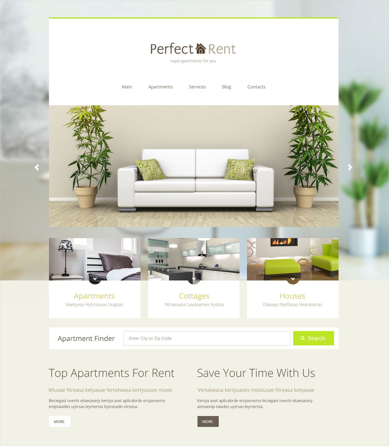 prefect real estate wordpress theme