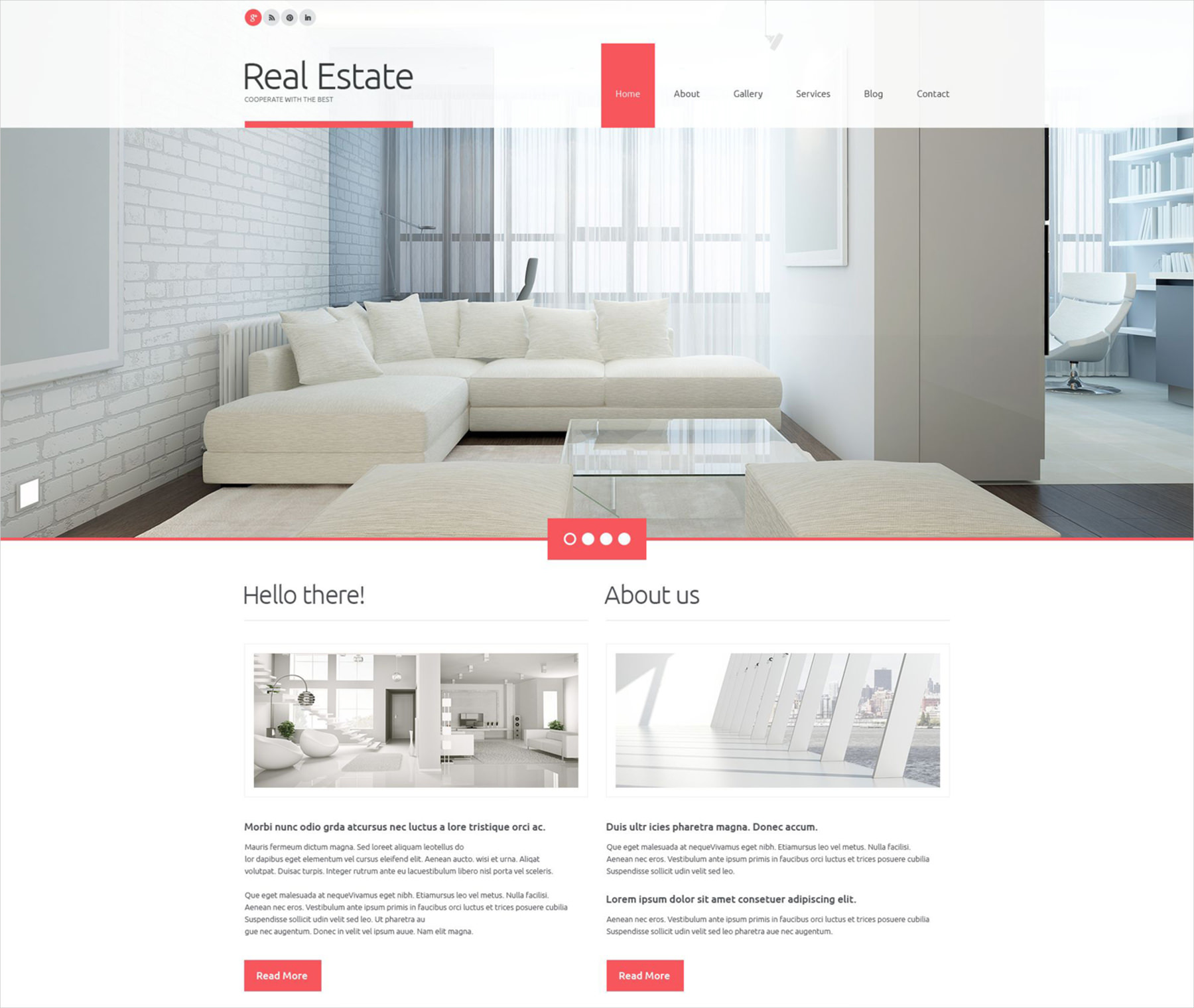 real estate business wordpress theme