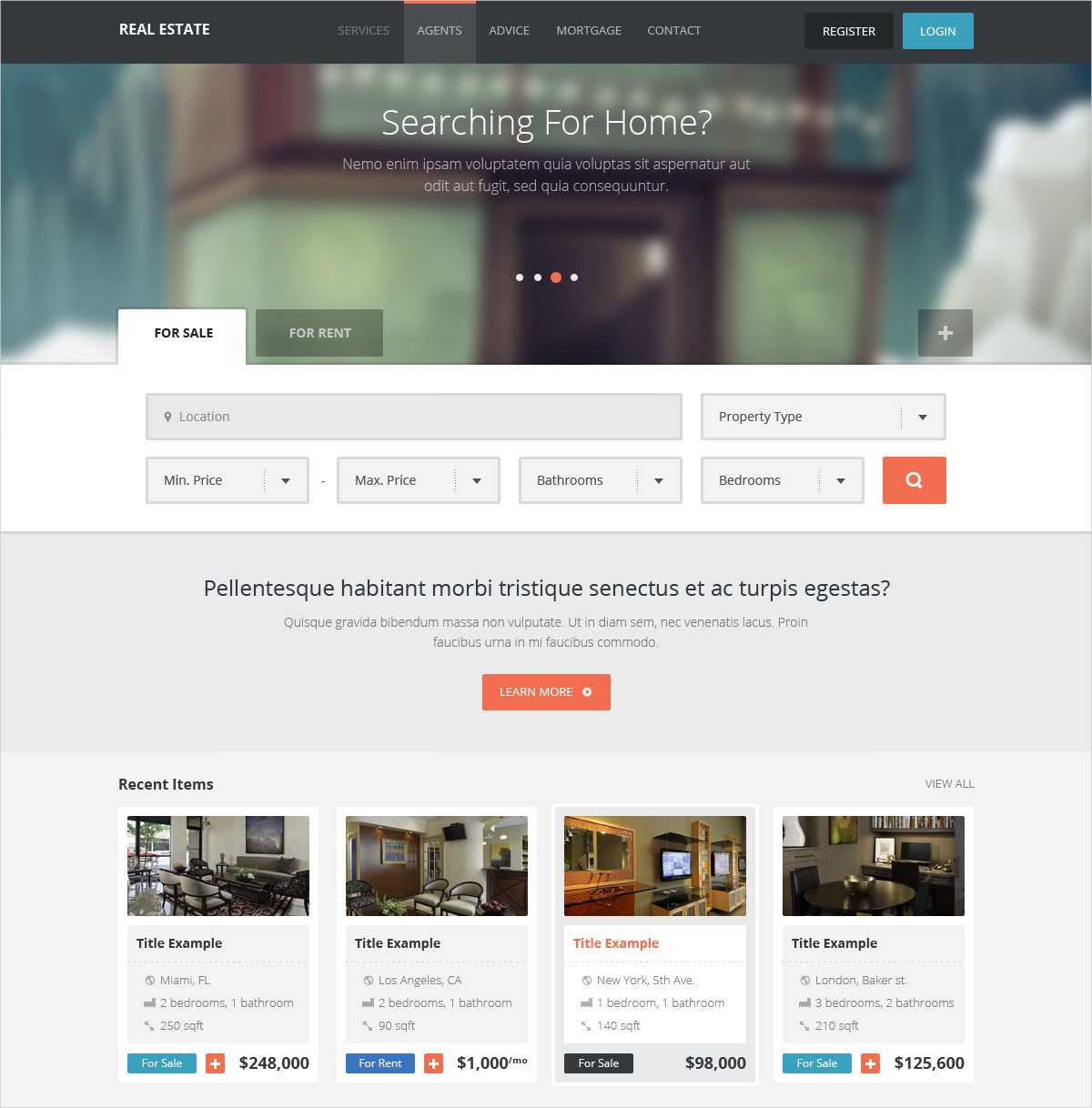 real estate directory wordpress theme