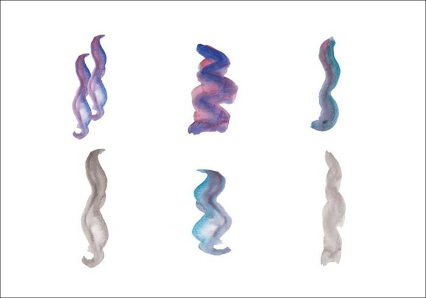 Series of Smoke Images