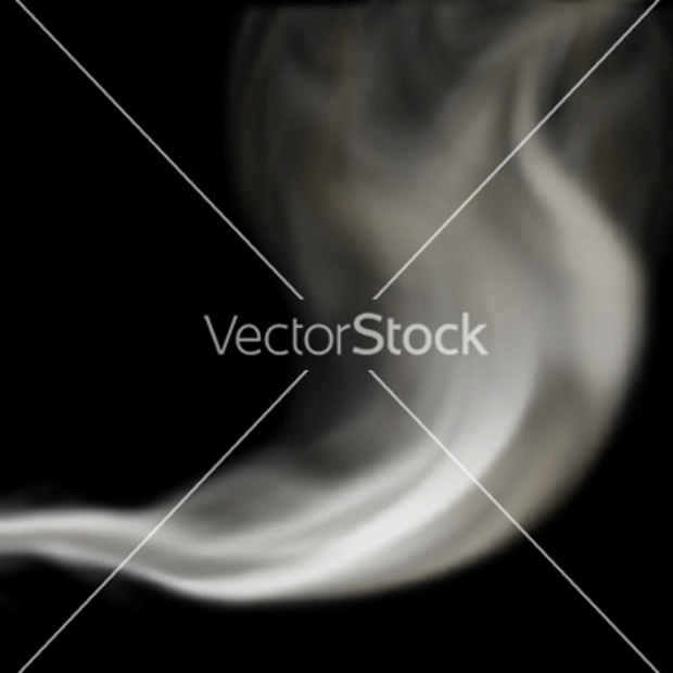 Blown Smoke Vector