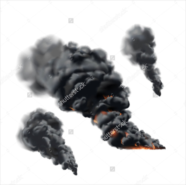 Big Fire Smoke Image