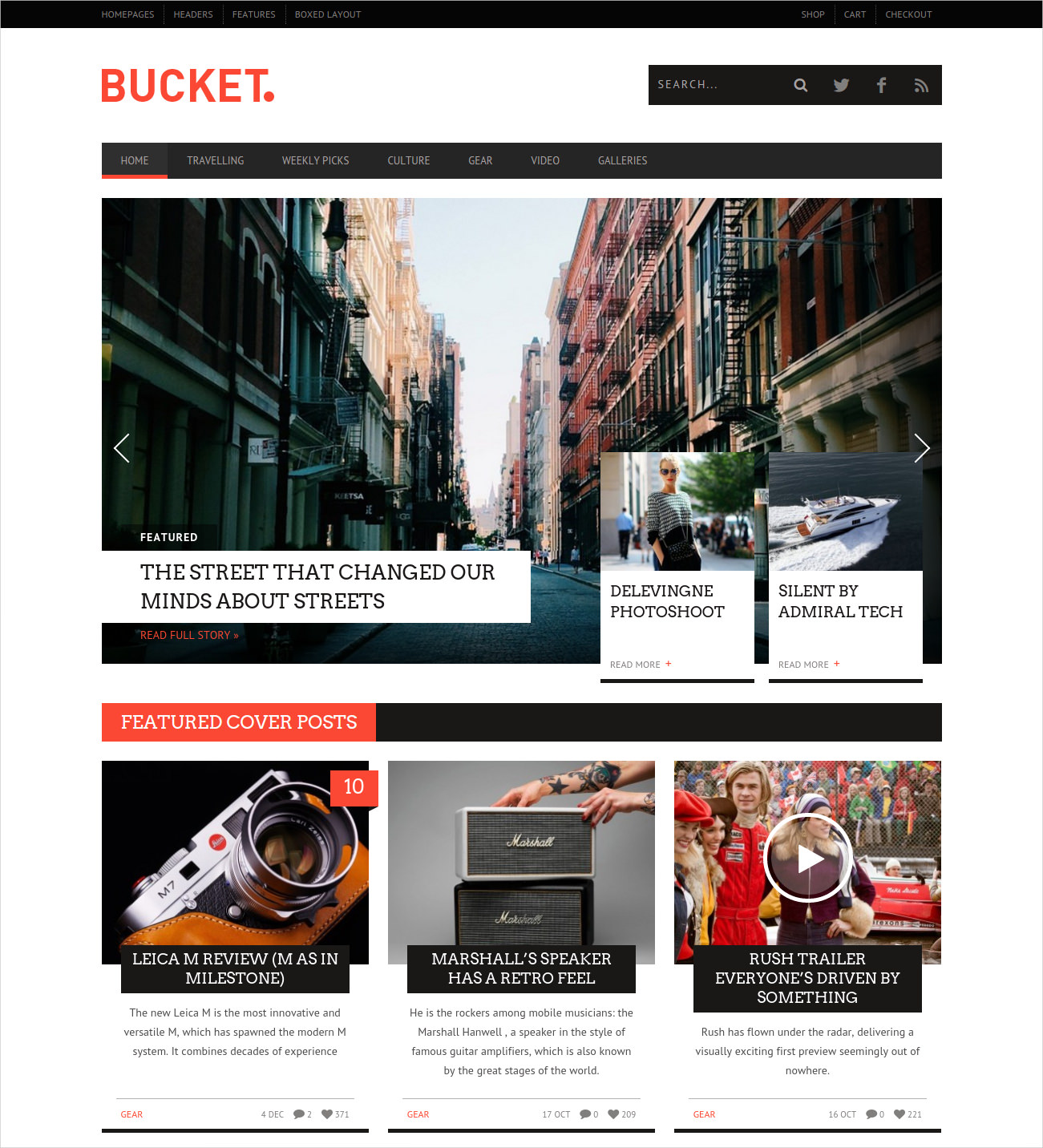 50 Best Wordpress Magazine Themes Templates Design Trends Premium Psd Vector Downloads