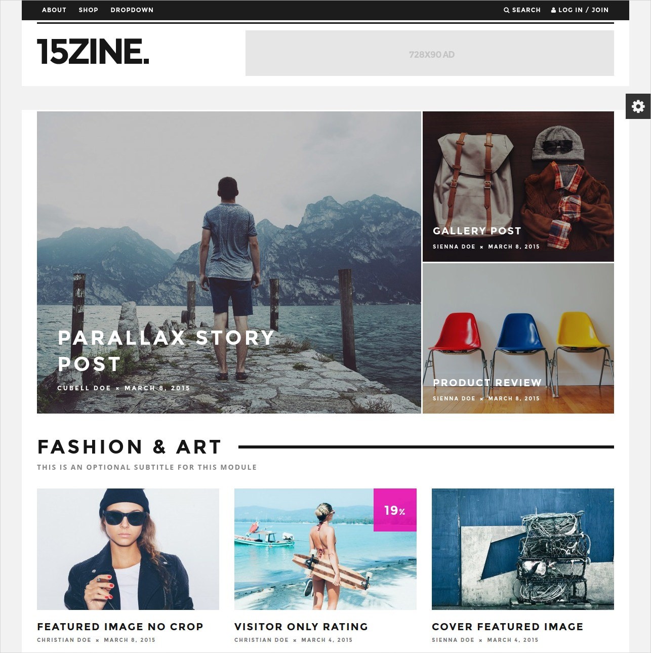 Fashion Trend Magazine Theme - $59