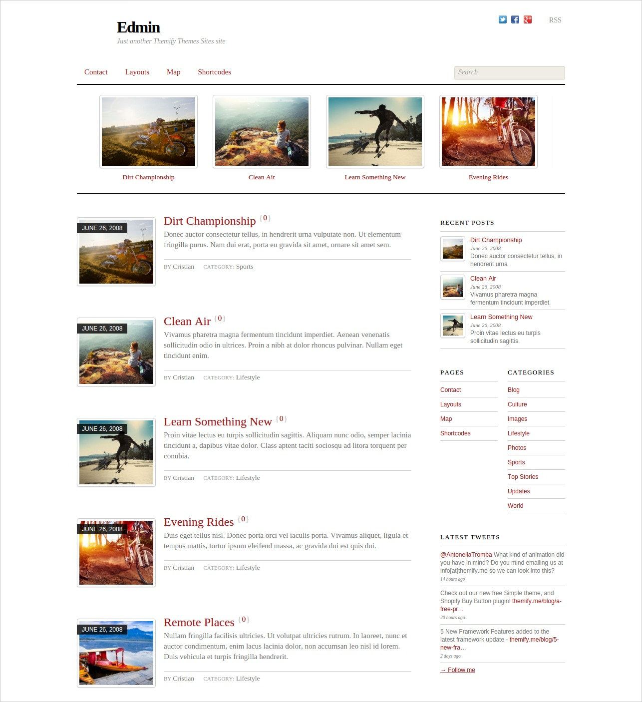 Magazine WordPress Blog Theme