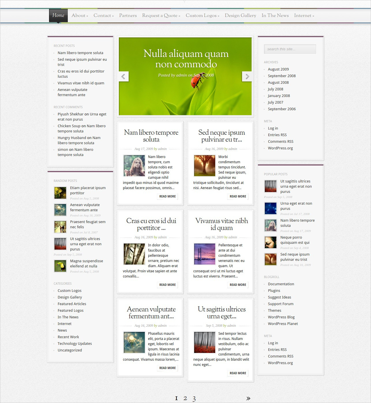 Magnificent Magzine WordPress Theme