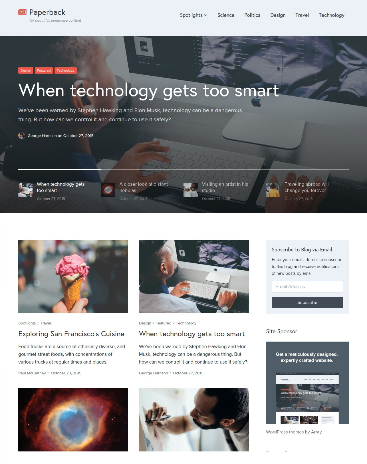 News Editorial Magazine WordPress Themes