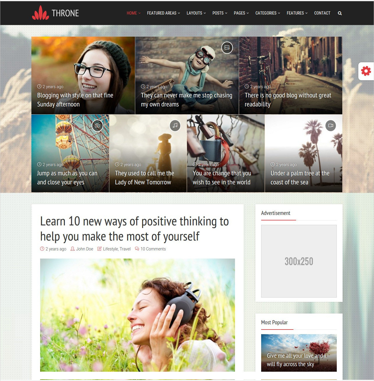 Professional WordPress Blog Magazine Theme