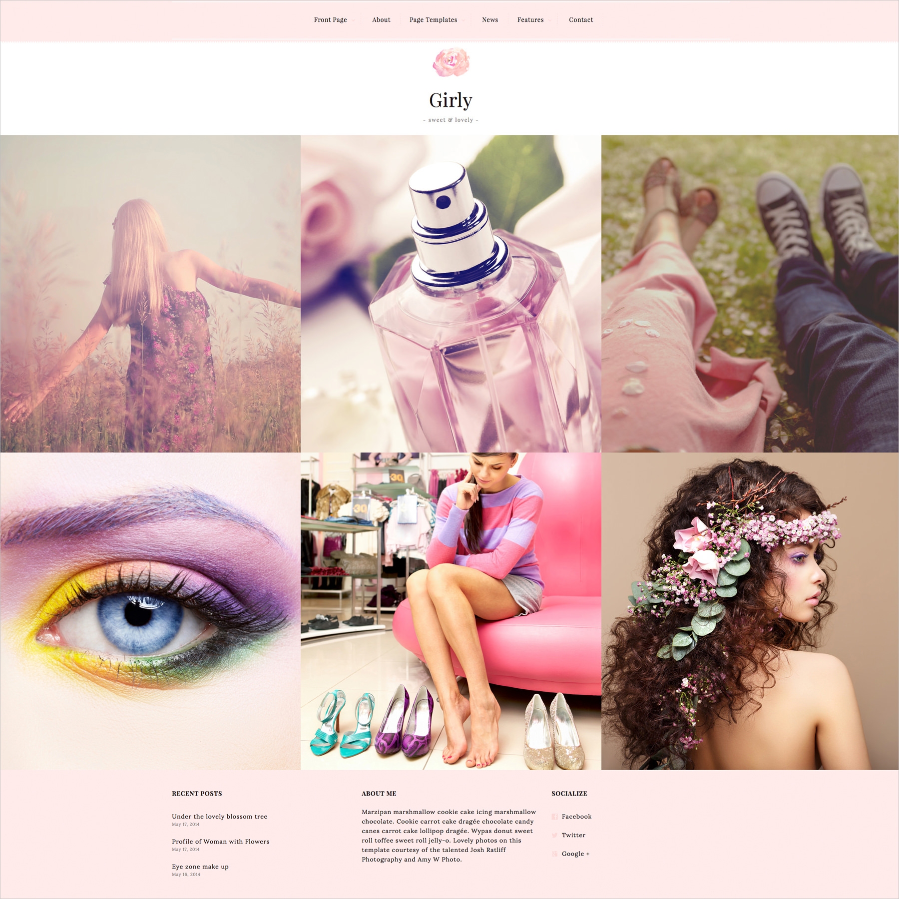 Stylish Blog & Magazine WordPress Theme - $49