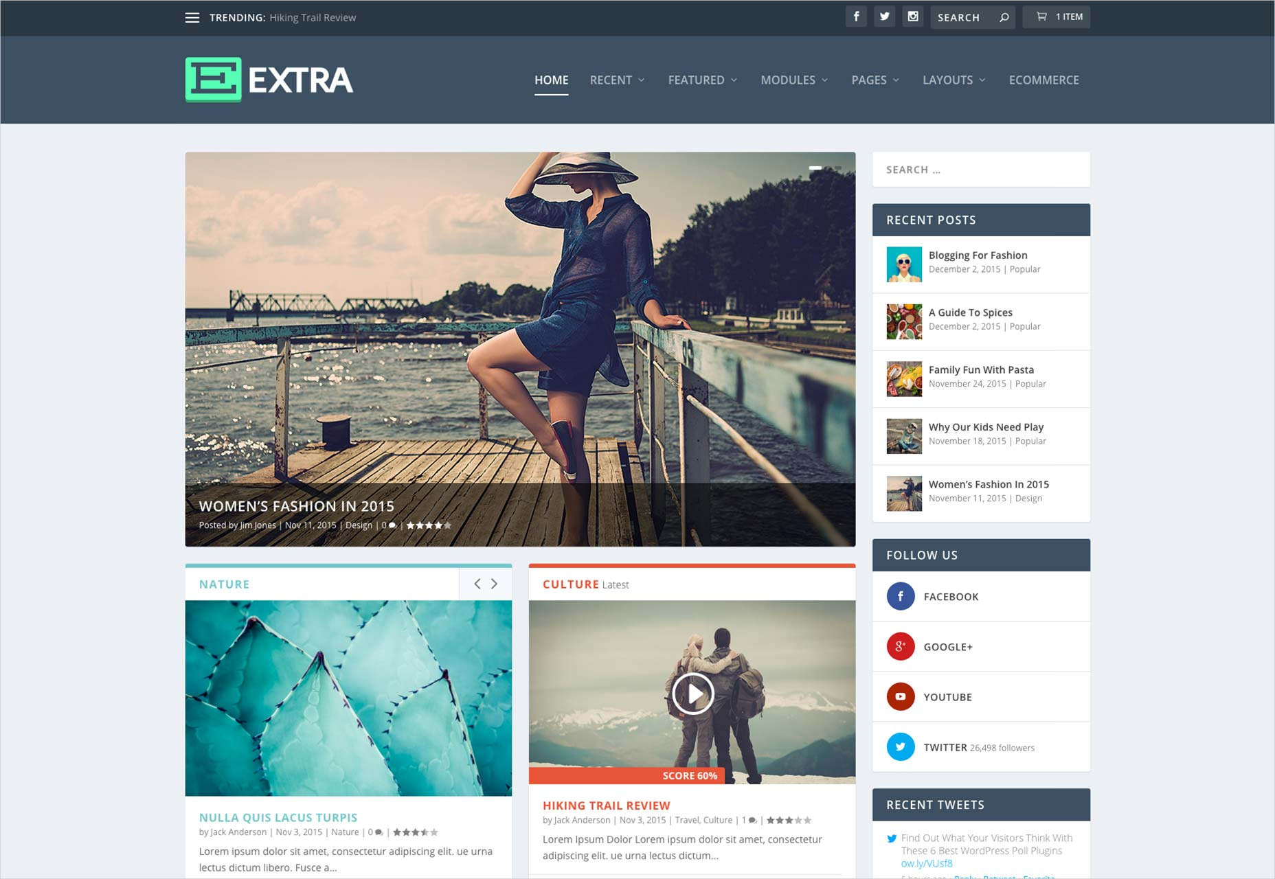 Ultimate Magazine WordPress Theme
