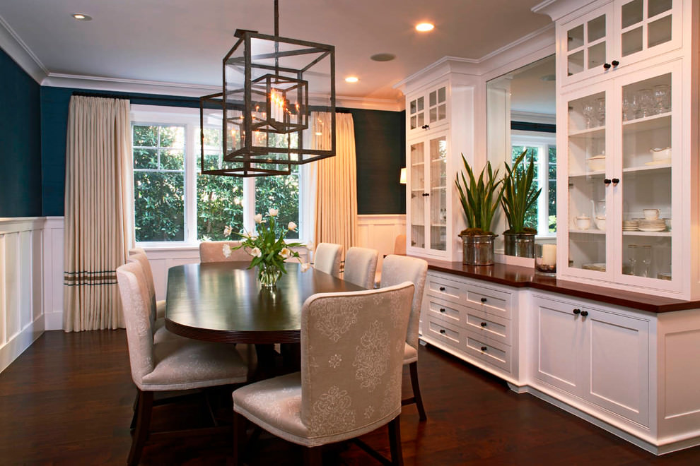 25 Dining Room Cabinet Designs Decorating Ideas Design  : Dining Room Decor Storage from www.designtrends.com size 990 x 660 jpeg 147kB