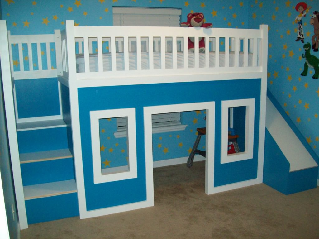 Cool Building Bunk Beds