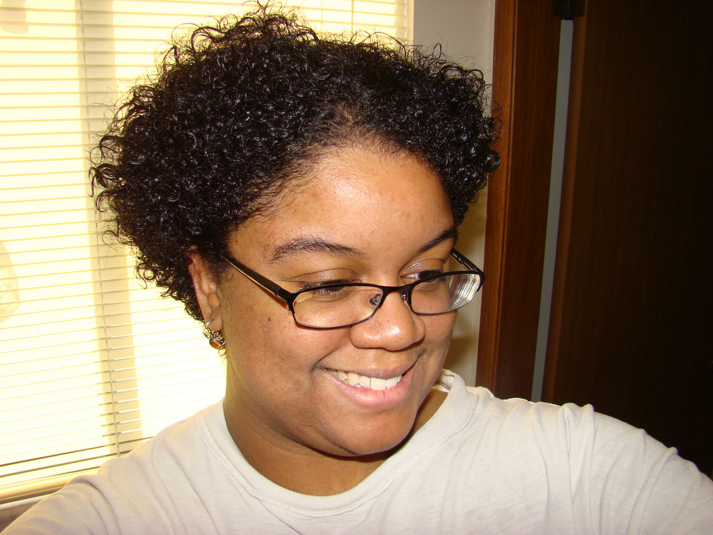 Natural Hair Big Chop