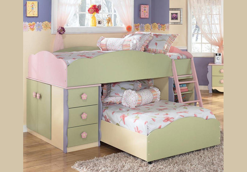 building bed design for kids