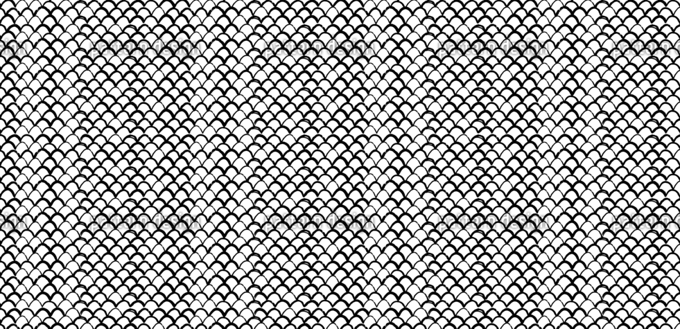 hand drawn fish scales texture
