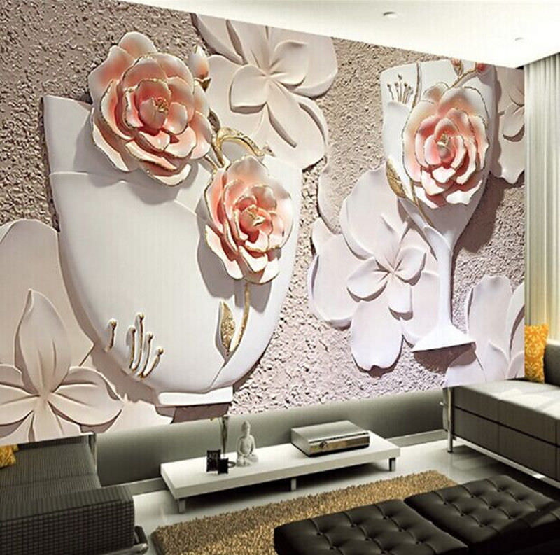 25 cool 3d wall designs decor ideas design trends for Design wall mural