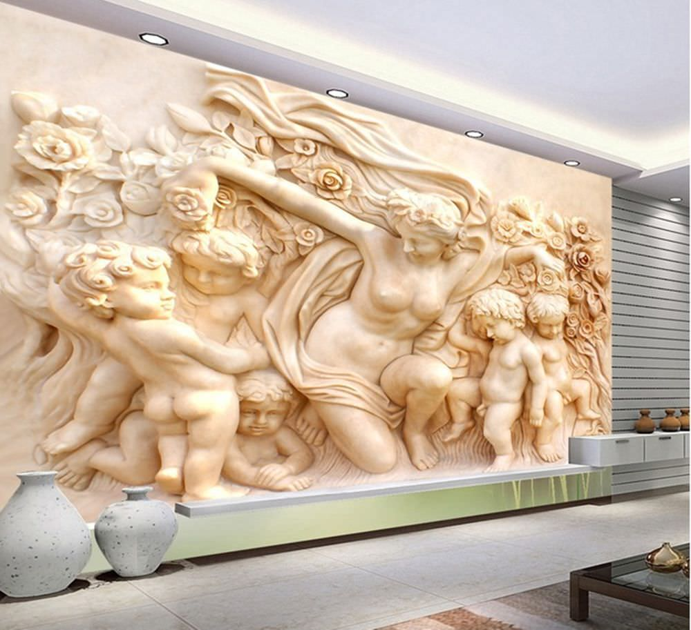 25+ Cool 3d Wall Designs, Decor Ideas