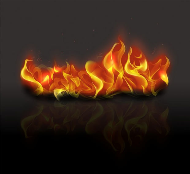 3D Fire Flame picture
