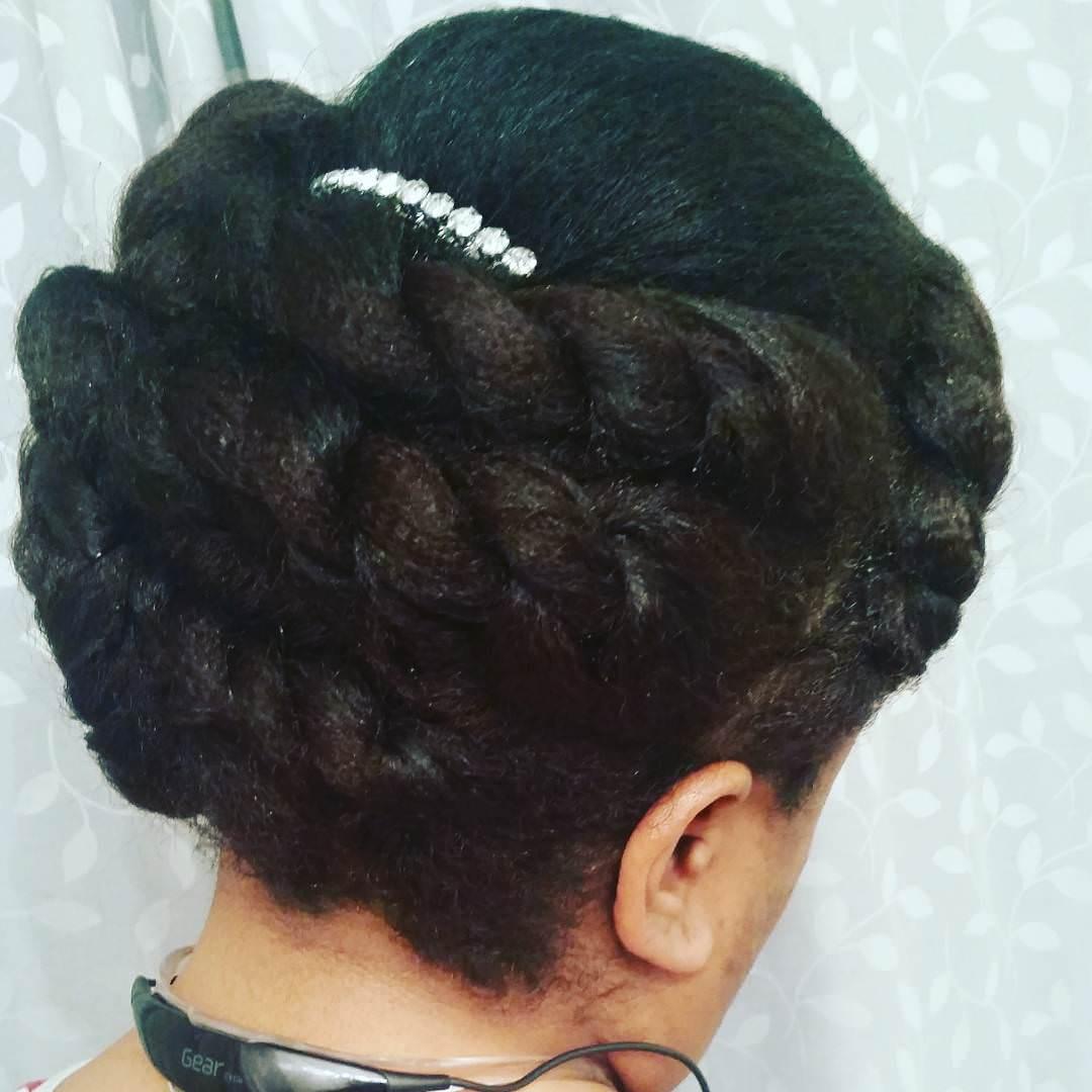 wedding twist hairstyle