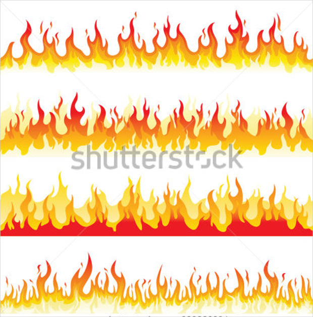 seamless fire flame image