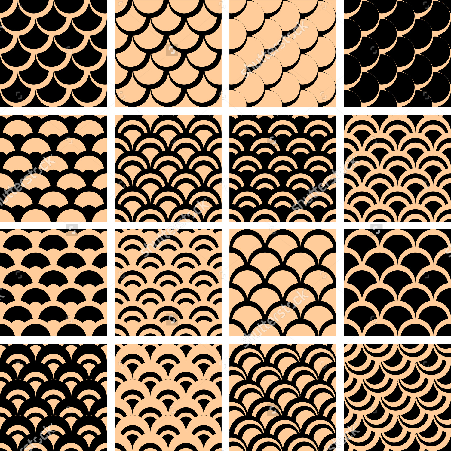 20 fish scale patterns textures backgrounds images
