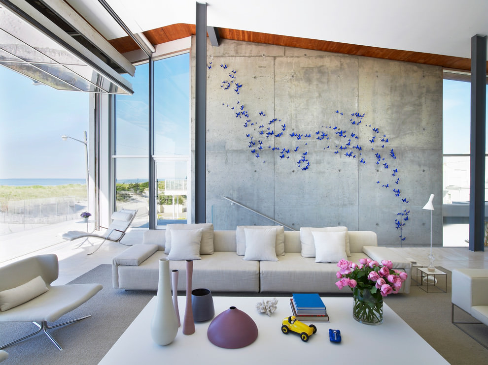 23+ Concrete Wall Designs, Decor Ideas