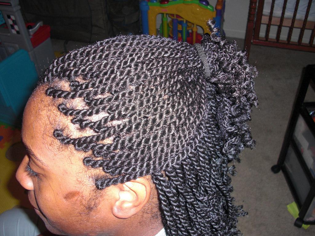 afro twist braid