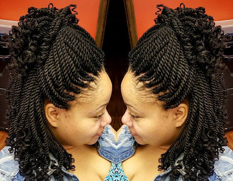 Attractive Kinky Twists