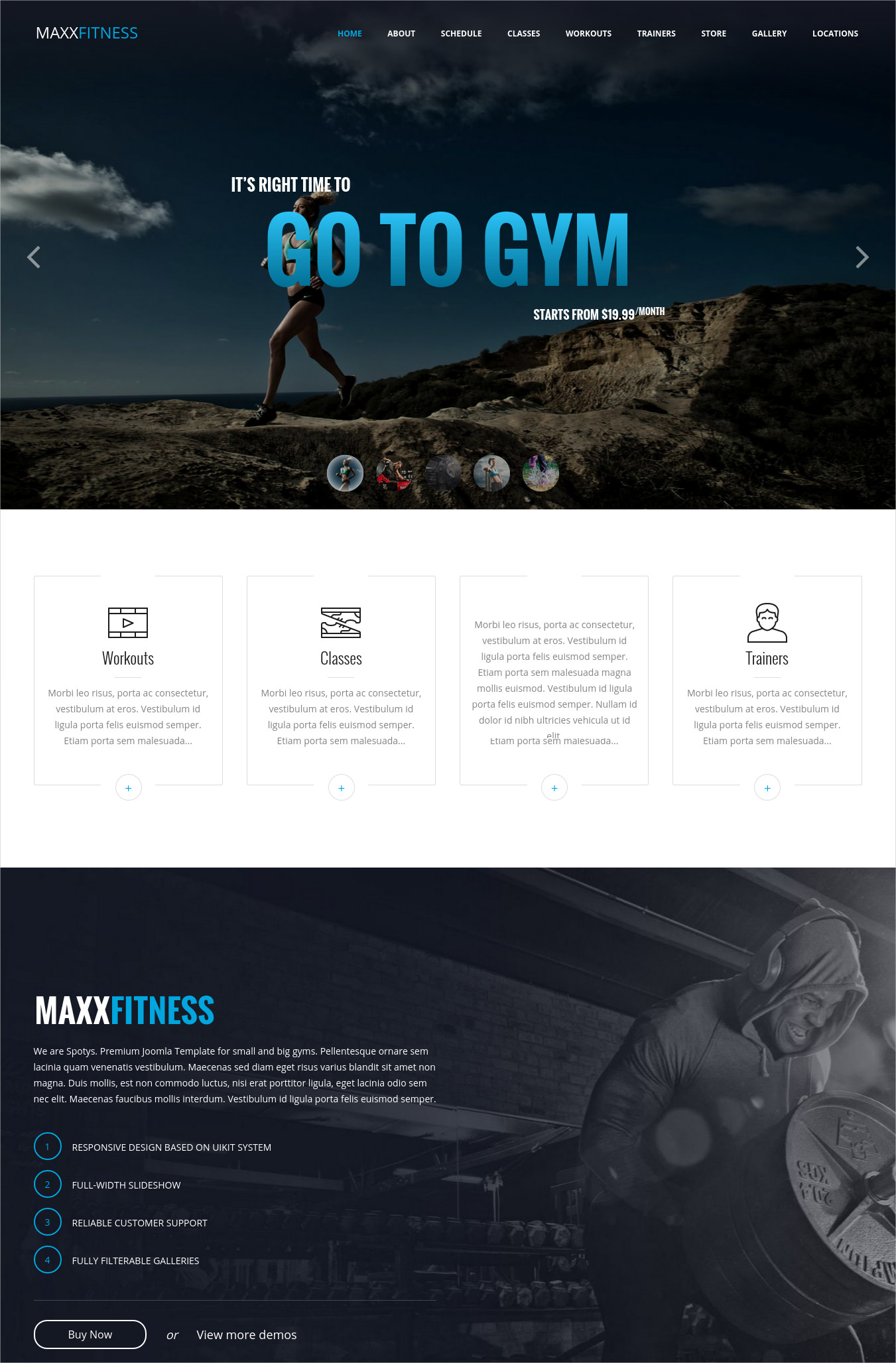 Best Gym WordPress Theme