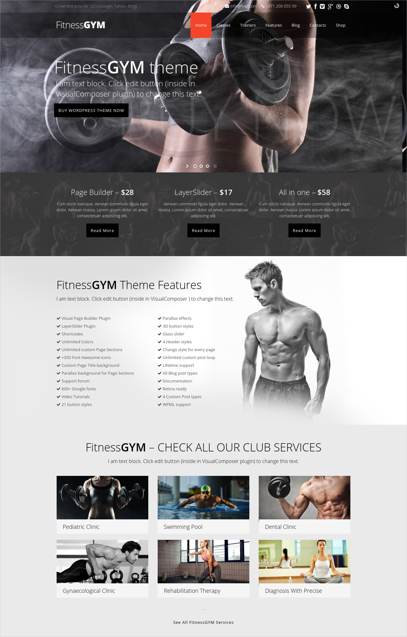 Fitness Gym Theme