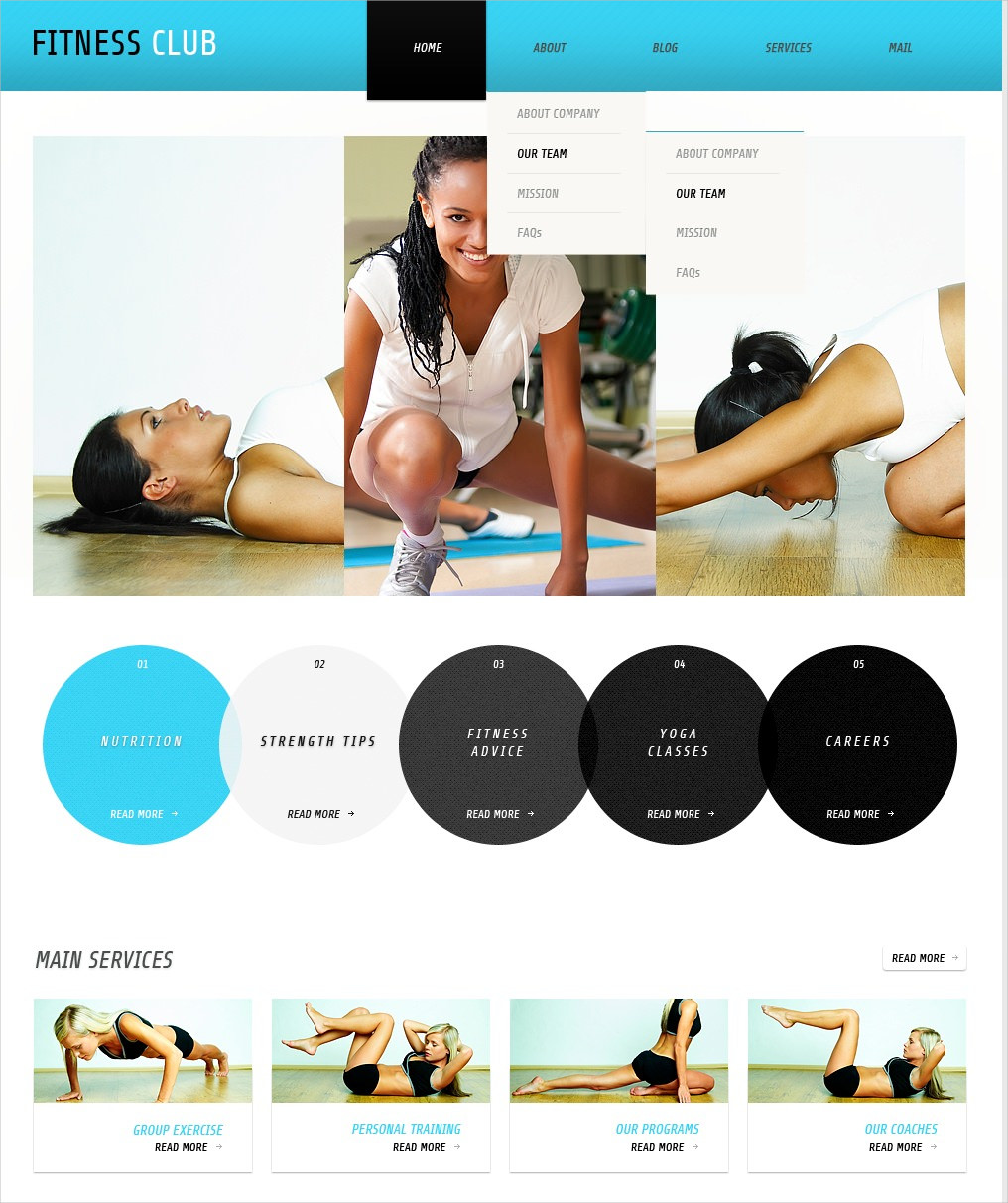 Flexible Fitness Template