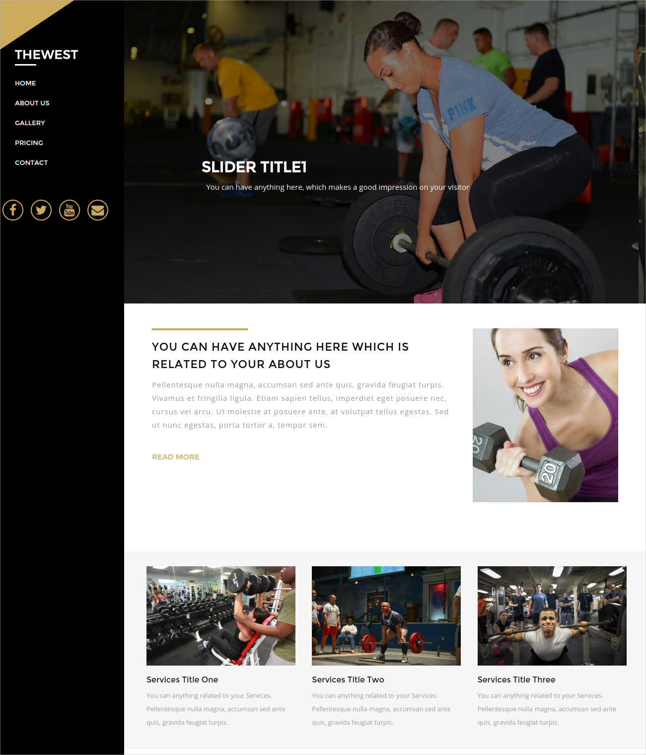 Multipurpose GYM WordPress Theme