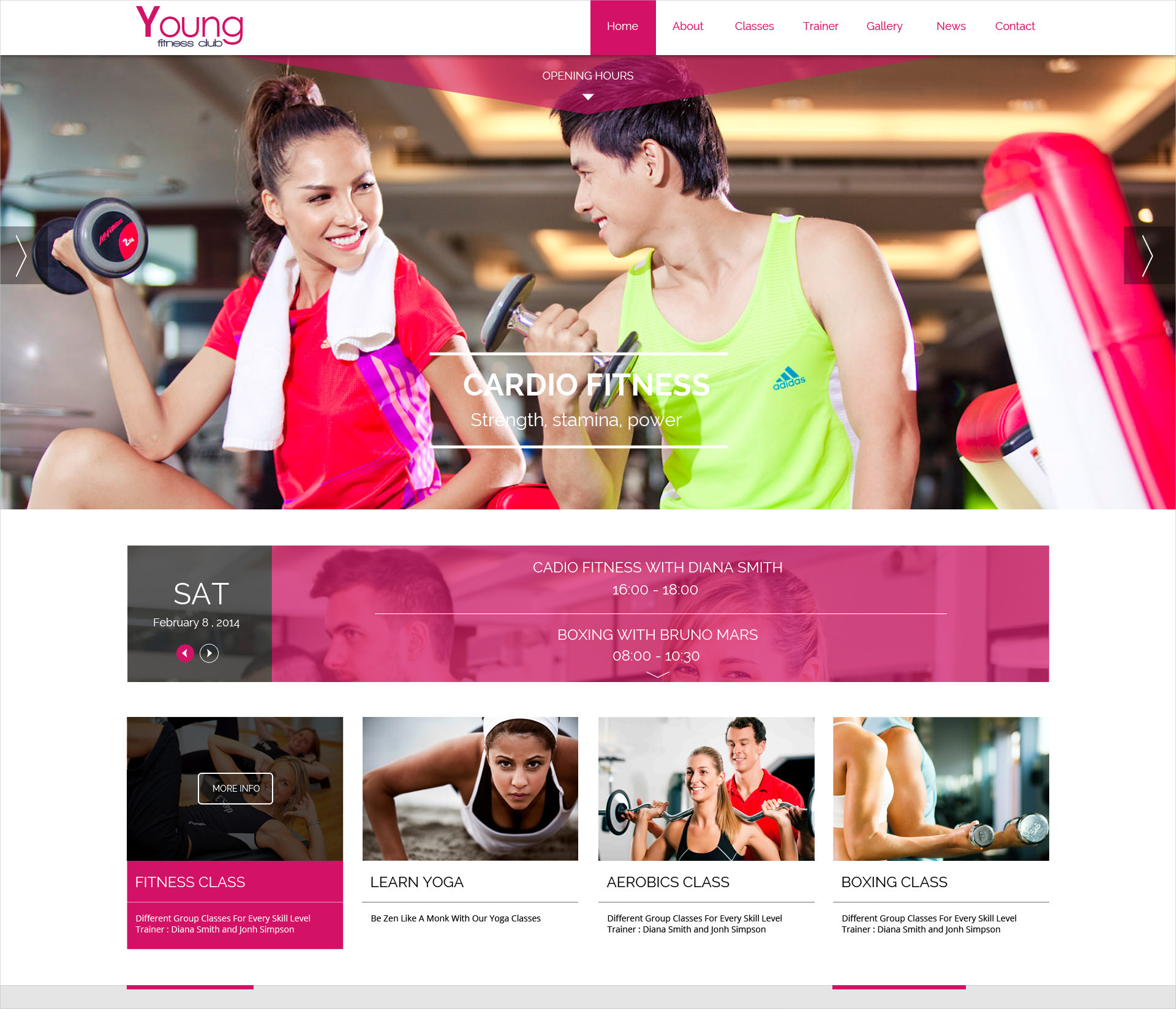 Spa & Cardio WP Theme