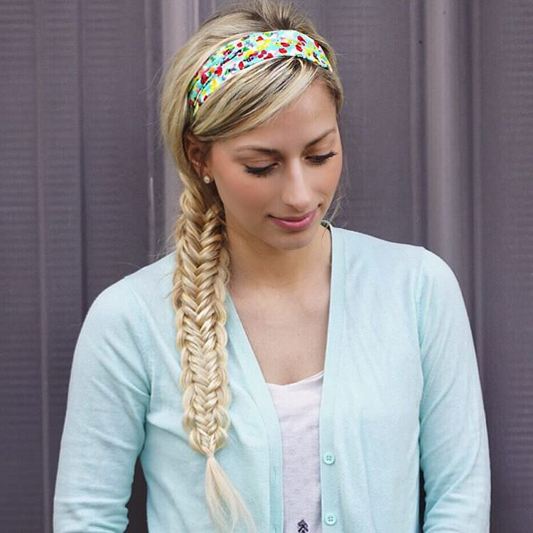 Twisted Edge Fish Braid