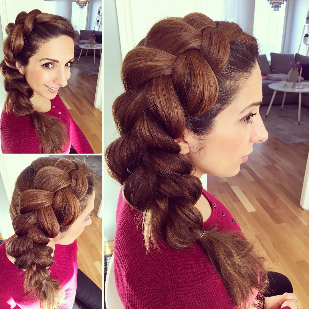 Big Side Dutch Braid