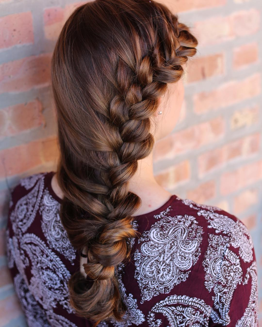 French Fall Side Braid.