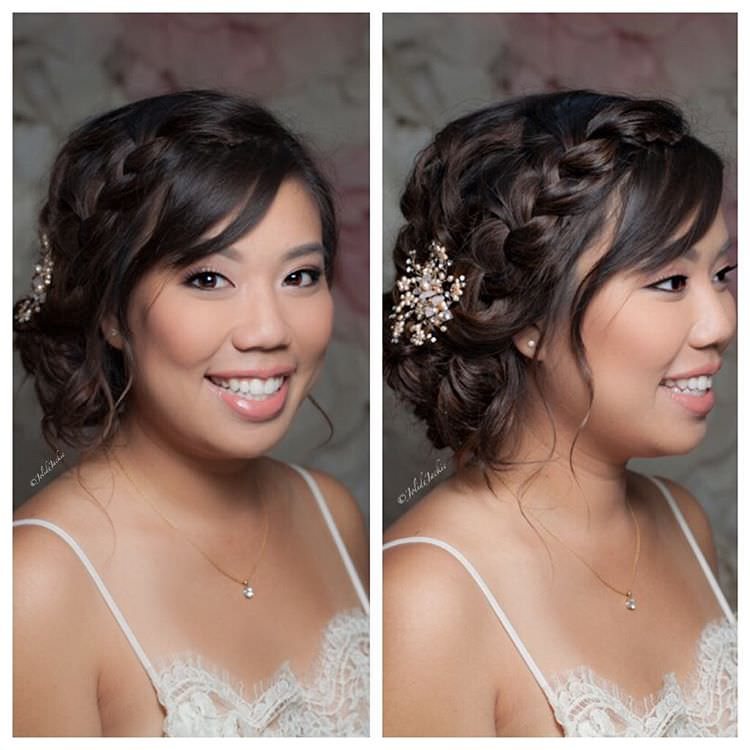 Side Braid Wedding Hair