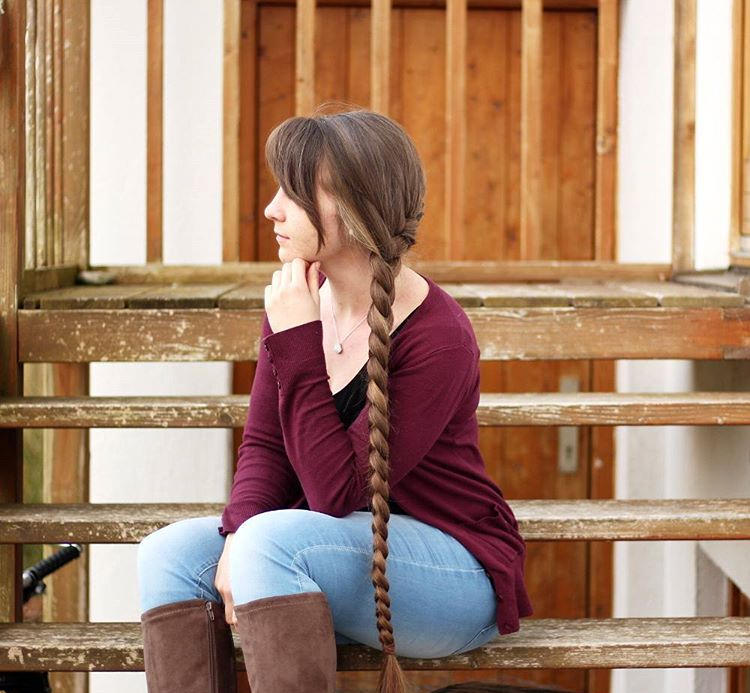 Simple Long Braid Hair